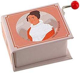 Caja de música / caja musical de manivela de cartón en forma de libro - Para Elisa (L. V. Beethoven): Amazon.es: Bebé