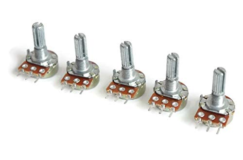 pack of 5 10K ohm potentiometer, single variable resistor Price & Reviews