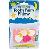 Rich Frog Tooth Fairy Pillow and Tooth Keepsake, Peach - 4