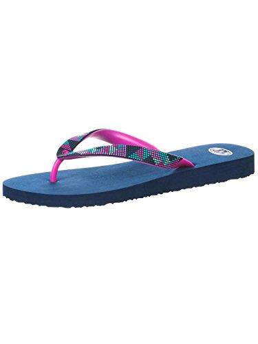 Animal Womens Summer Pool Flip Flops Marina Blue Ve0lUyTQ