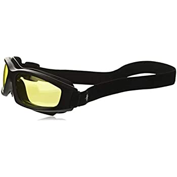 583ba43a2c Yellow Motorcycle Riding Goggles  Night Vision Nighttime Riding Goggles