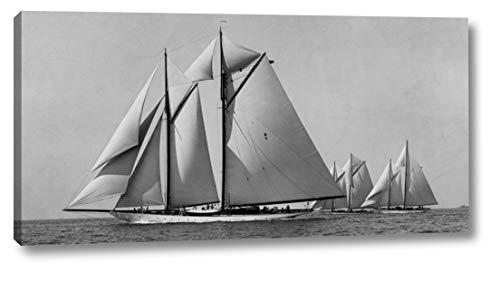 Schooner Race - Schooner Race by Edwin Levick - 11