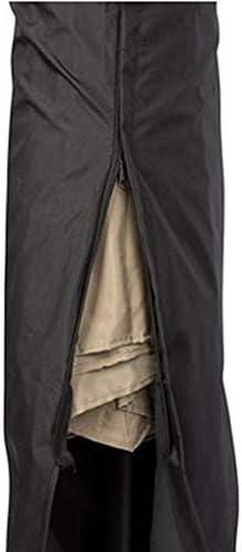 家具カバー ドーム/バハマパラソルキャノピープロテクターカバー庭の傘カバー庭の傘カバー防水防塵/UV/耐候性、オックスフォード420 Dファブリック - ブラック ダストバッグ (Size : (265)50x70x40cm)