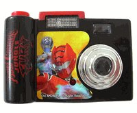 Disney Power Rangers Camera - Play Talking Camera - NEW! pwrg-tlkcam68214-bx29a-g29
