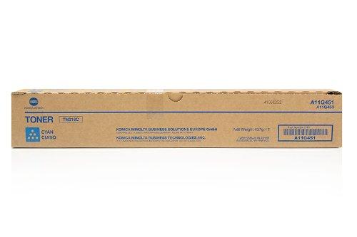 Premium Compatible Konica Minolta Olivetti Develop IneoA11G431 TN216C Cyan Toner - Color Copier Cyan Laser Toner