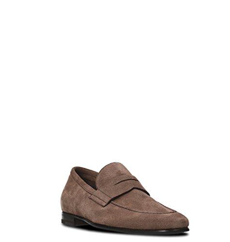 Barrett Men's 091U036BEIGE Beige Suede Loafers ojO5nhXbB