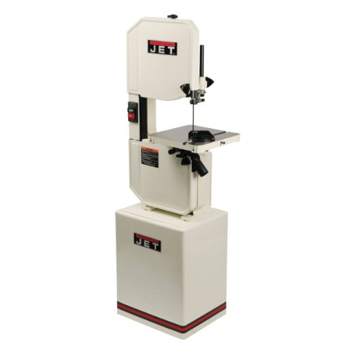 JET J-8201VS 14-inch Wood/ Metal Vertical Variable Speed Bandsaw 1PH by Jet
