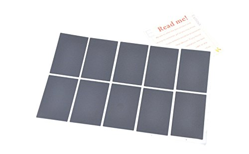 Eathtek Replacement Touchpad Sticker 10pcs/set for Lenovo IBM Thinkpad T410 T410I T410S T400S T420 T420I T420S T430 T430S T430I T510 T510I T520 W510 W520 L520 L510 L420 L412 L520 SL410K series by Eathtek