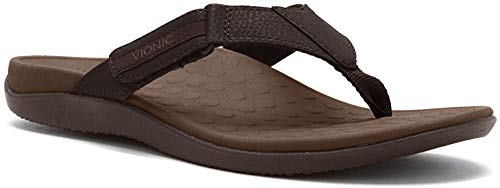 Vionic with Orthaheel Technology Mens Ryder Thong Sandals