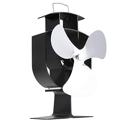 Yogasada Ultra silencioso Respetuoso con el Medio Ambiente Amigable Calentador de Estufa Ventilador de Estufa de