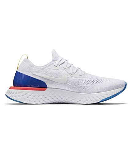 Epic React Flyknit White Running Shoes