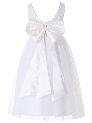 Bow Dream Flower Girls Dress