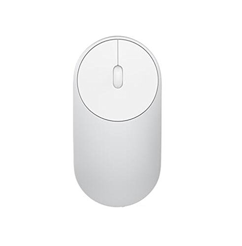 Wireless Optical Rf Mouse Silver (Penin Original Xiaomi Mouse Portable Wireless Mice Optical Bluetooth 4.0 Rf 2.4Ghz Dual Mode Connect 1200Dpi Mi Gaming Mouse Silver No Battery)