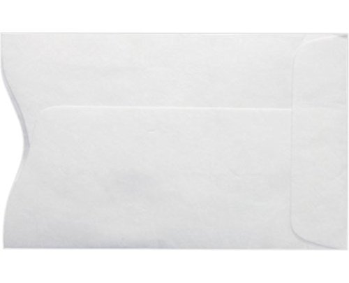 Key Card Holder / Credit Card Protector / Gift Card Sleeve, Plain White 2-3/8'' x 3-1/2'' 500CT- Item# MKS115W by Minas Envelope