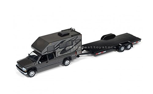 NEW DIECAST TOYS CAR JOHNNY LIGHTNING 1:64 TRUCK & TRAILER -