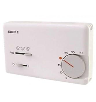 Eberle - Termostato climatización - Tipo KLR E 7004 - : 111 7704 51 100: Amazon.es: Bricolaje y herramientas