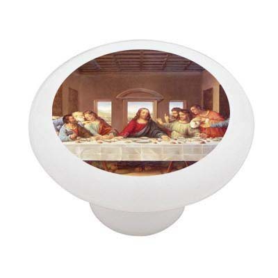 Last Supper Da Vinci Ceramic Drawer Knob