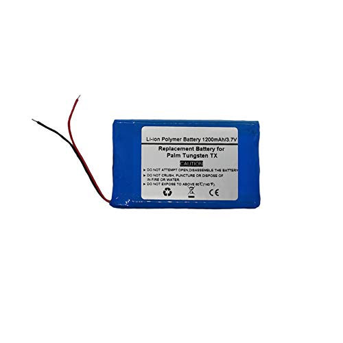 Pda Battery Pack - 3.7V/1200mAH Replacement Battery for PDA Palm Tungsten TX