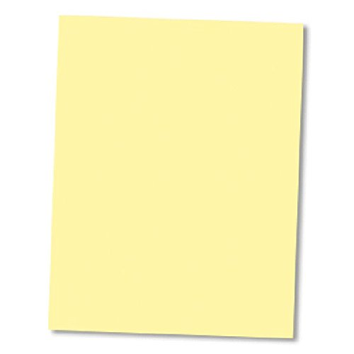 8-1/2'' x 11'' NCR (Carbon-Less) Paper CFB Yellow