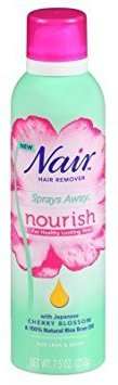 Nair Hair Remover Sprays Away Nourish Legs & Body 7.5 - Hair Spray Remover