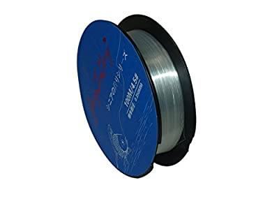 JiangTaiGong Monofilament Fishing Line,Superior Mono Nylon Fish Line Great Substitute for Fluorocarbon Fishs Line, 100 Meters Abrasion Resistant Fly Fishing Line for Saltwater