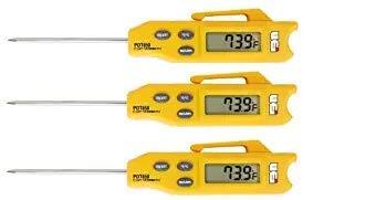 UEi Test Instruments PDT650 Folding Pocket Digital Thermometer (3-(Pack))