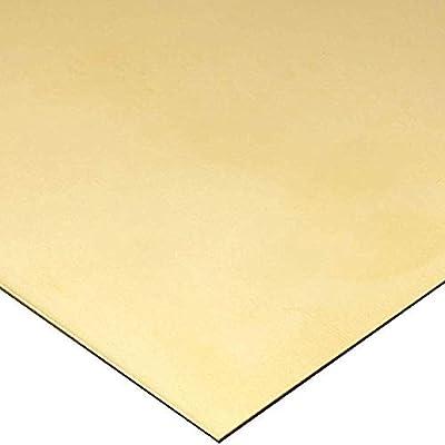 PIASTRA in ottone spessore 2MM 300mm x 100mm