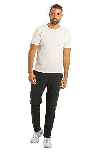 OLIVERS Apparel, Mens 4-Way Stretch, Water Repellant, Bradbury Athletic Jogger Pants (Dark Navy, ()