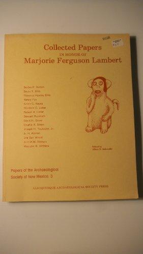 Collected Papers in Honor of Marjorie Ferguson Lambert