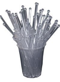 - BarConic Ball Head Stirrers - Clear (bag of 500)