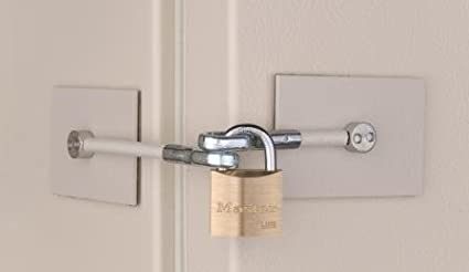 Blanco frigorífico Door Lock Kit - no candado: Amazon.es ...