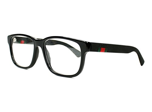 Eyeglasses Gucci GG 0011 O- 005 BLACK - Gucci All Black