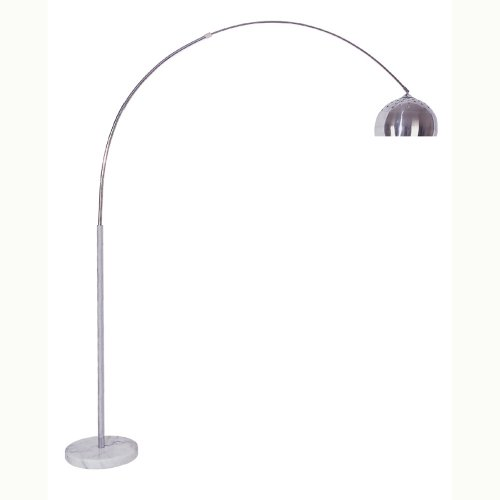 Ore International 6935 85-Inch Arch Floor Lamp with Marble (Arch Marble Floor Lamp)