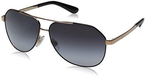 Dolce & Gabbana Women's Sicilian Taste Aviator Sunglasses, Matte Black, 59 mm