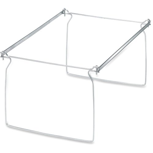 """Pendaflex Actionframe Drawer File Frame - 14"""" to 18"""" Letter Drawer Size Supported - Steel - 2/Box - Stainless Steel"""