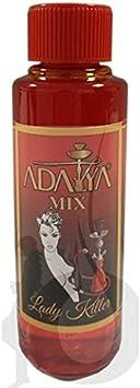 Melaza Adalya Lady Killer para shisha SIN NICOTINA - Sabor: Melocotón, Mango, Menta y Hielo (170ml) - Sustitutivo de tabaco sin nicotina para cachimba