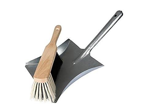 Tool País dt94001Set, metal pala y escoba