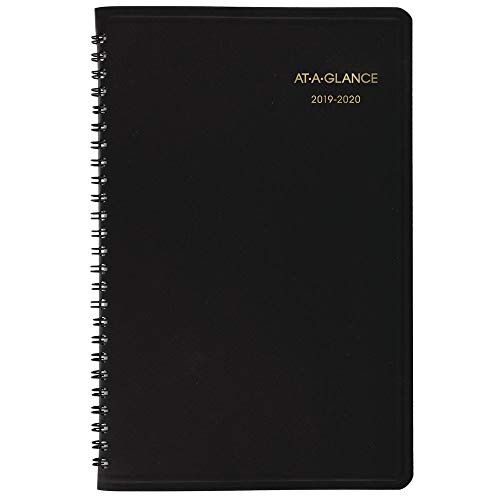 AT-A-GLANCE 2019-2020 Academic Year Weekly Planner/Appointment Book, Large, 8-1/4
