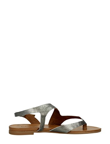 Choizz Exclusive - Sandalias de vestir de Piel para mujer Marrón * target_attribute_value gris peltre