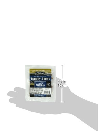 Shelton Poultry Turkey Jerky, Original, 0.50-Ounce (Pack of 12)