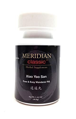 Classic Pill (Meridian Classic Premium Brand Teapills - Xiao Yao San/Xiao Yao Wan, Free & Easy Wandering Pill - 1 bottle (240 Teapills - NOT 200 Teapills))
