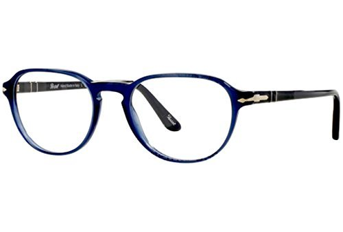 Persol PO3053V 1028 Eyeglasses Opal Blue (Women Eyeglasses For Persol)