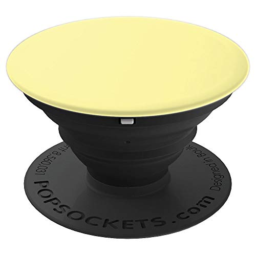 Banana Yellow Color - PopSockets Grip and Stand for Phones and Tablets -