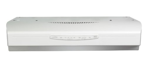 Broan QS342WW QS3 Series Range Hood, 42-Inch, White