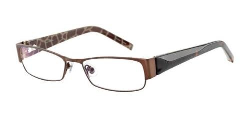 JONES NEW YORK J446 Eyeglasses Brown - Glasses Jones New York