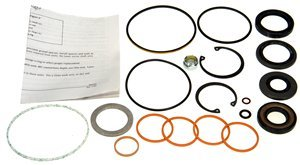 Pinion Shaft Seal - ACDelco 36-349660 Professional Steering Gear Pinion Shaft Seal Kit with Bushing, Seals, and Snap Ring