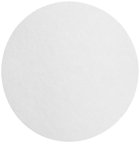 Whatman 1004-090 Quantitative Filter Paper Circles, 20-25 Micron, 3.7 s/100mL/sq inch Flow Rate, Grade 4, 90mm Diameter (Pack of 100) by Whatman