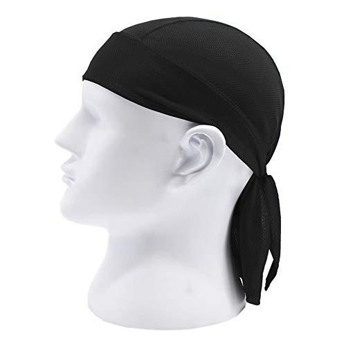 (KLAAS NIC Men Women Skull Cycling Pirate Cap Outdoor Sport Head Scarf Bicycle Running Bandanas Anti Sweat UV Headwears Quick-Drying Riding Ciclismo Absorb Sweat Headband Hip Hop Hats )
