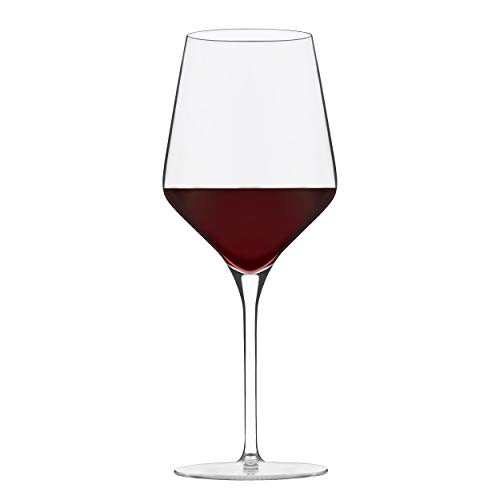 Libbey Signature Greenwich Red Wine Glasses, 16-ounce, Set of 4