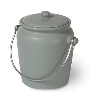 Garden Trading Komposteimer für die Küche Shutter Blue: Amazon.de ...